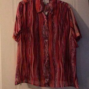Shirt with sleeveless